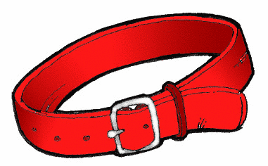 381x236 Dog Leash And Collar Clipart