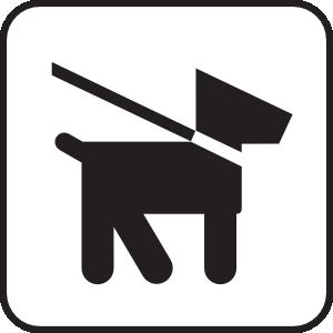 300x300 Keep Dogs On Leash Clip Art