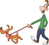 170x154 Dog On A Leash