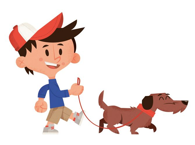Dog Leash Clipart