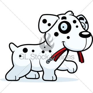 325x325 Cartoon Dog Leash Gl Stock Images
