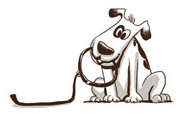 254x160 Dog Leash Clipart