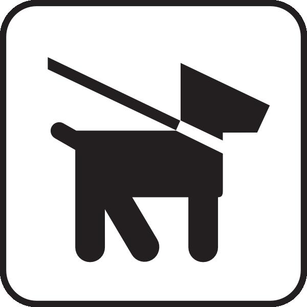 600x600 Keep Dogs On Leash Clip Art