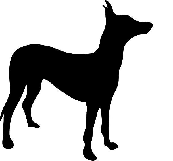 602x561 Dog Training Clipart