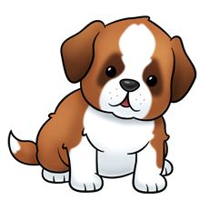 220x220 Puppies Digital Clip Art Part 1 For Personal And Commercial Use