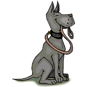 300x300 Dog With Leash Clipart, Cliparts Of Dog With Leash Free Download