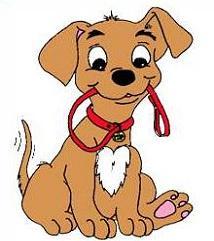 214x241 Free Dog Leash Clipart
