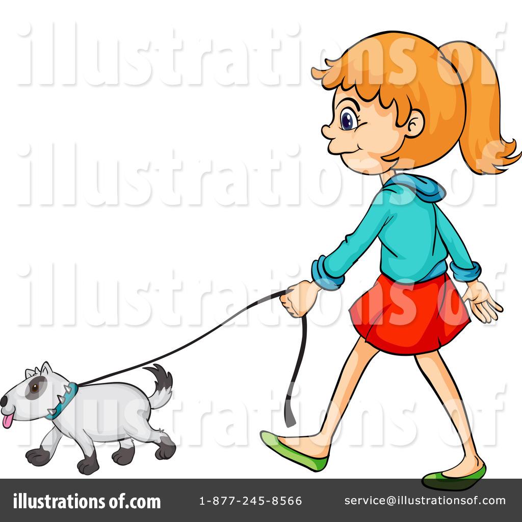 1024x1024 Walking Dog Clipart