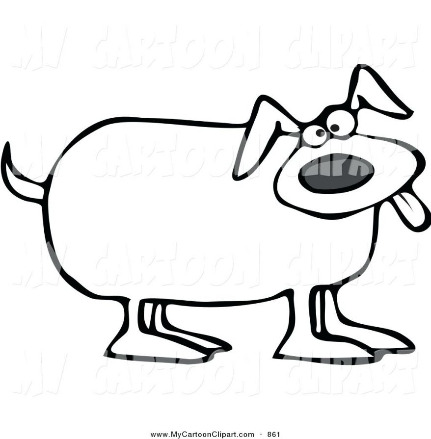878x895 Royalty Free Vector Clip Art Illustration Of A Coloring Page