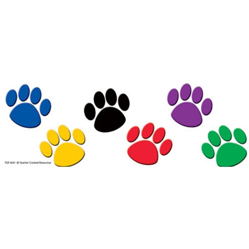 photo about Free Printable Paw Prints known as Canine Paw Border Totally free obtain least difficult Pet dog Paw Border upon