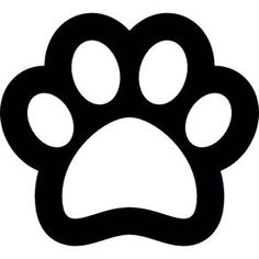 236x236 Dog Paw Print Clipart Vector Graphics. 910 Dog Paw Print Eps Clip