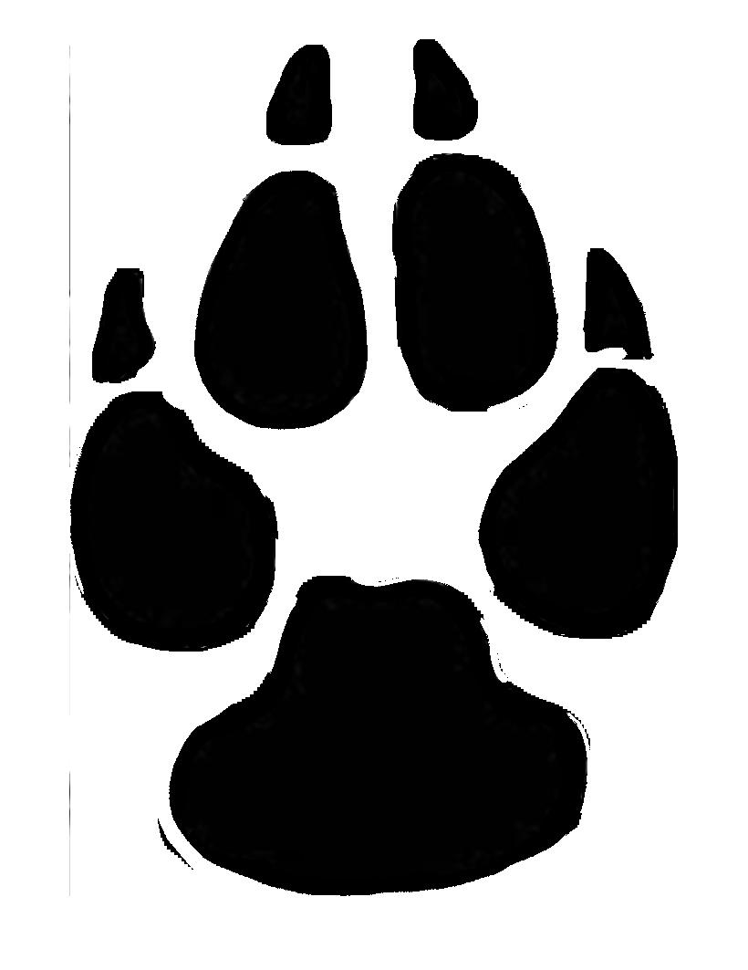 820x1063 Dog Paw Prints Dog Paw Print Clip Art Free Clipart Image