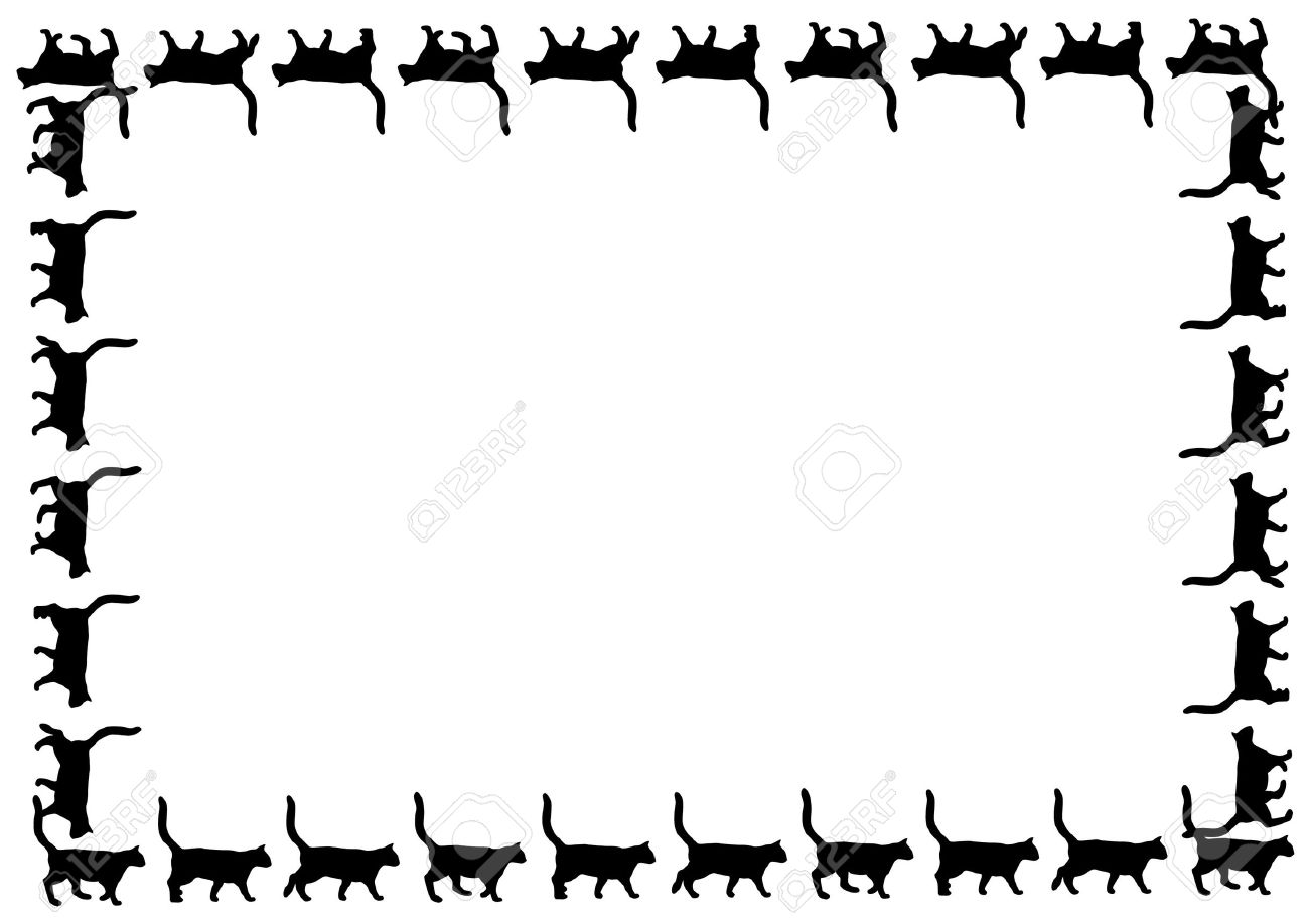 1300x918 Images Of Black Paw Print Wallpaper Border
