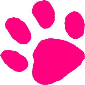297x299 Paw Border Clipart