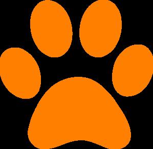 299x291 Free Tiger Pawprint Clipart