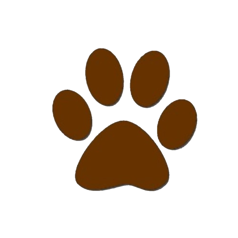 950x950 Brown Dog Paw Print Clipart Free To Use Clip Art Resource