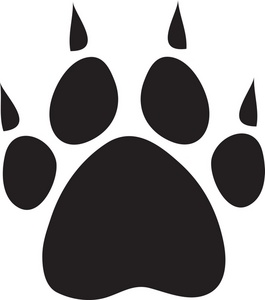 265x300 Puppy Clipart Foot