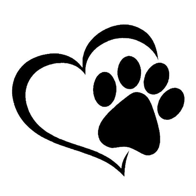 Dog Paw Print Image