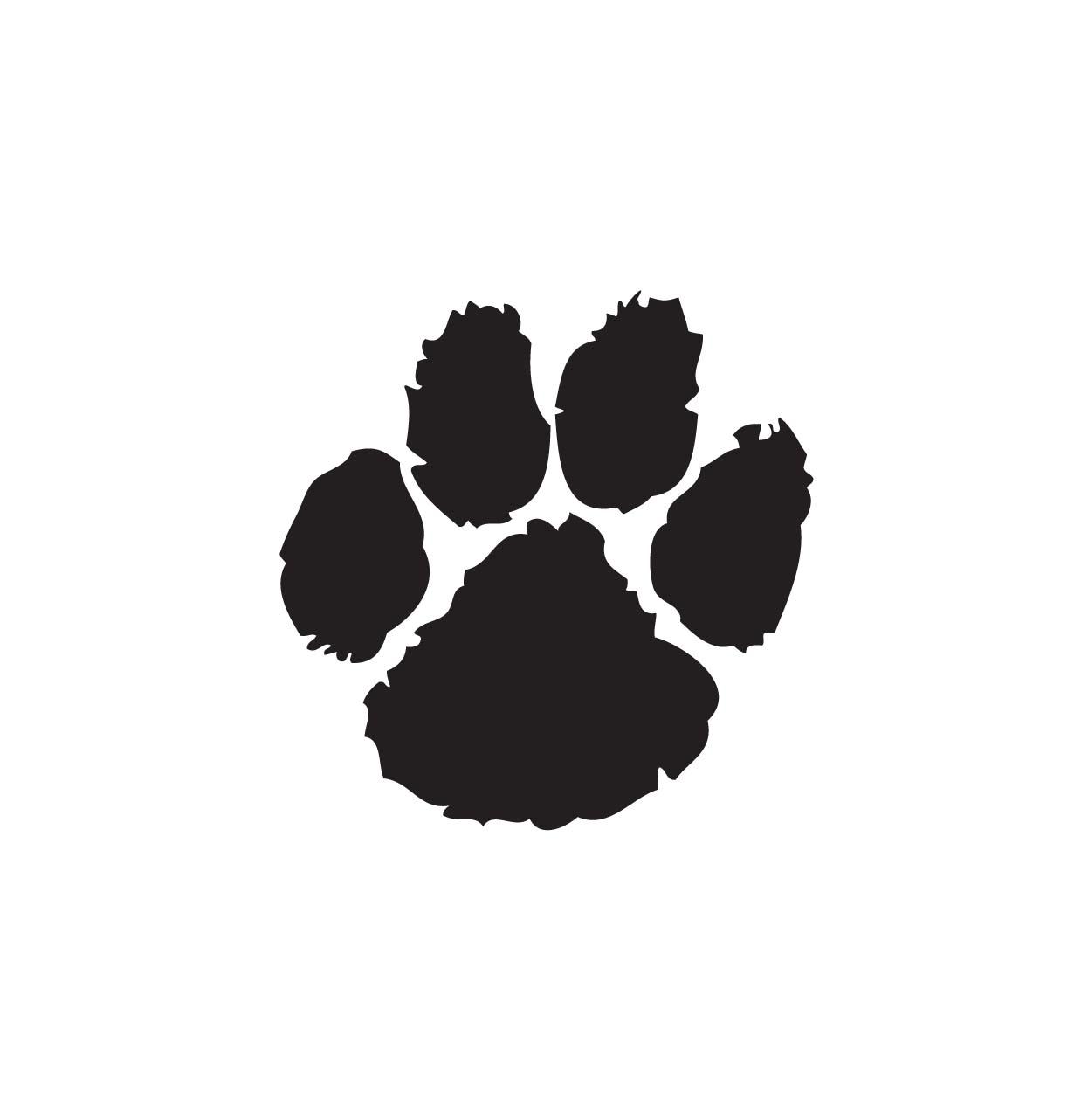 1246x1282 Dog Paw Print Clip Art