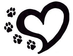 250x193 Dog Paw Paw Print Tattoo Clipart Tats Heart Tattoos Image