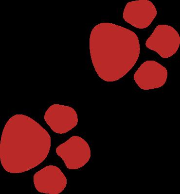 370x400 Dog Paw Print Clip Art Free Clipart Image 2