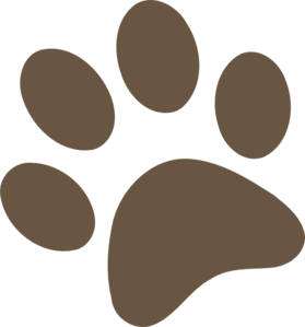 279x299 Clipart Dog Paw Print Clipart Image