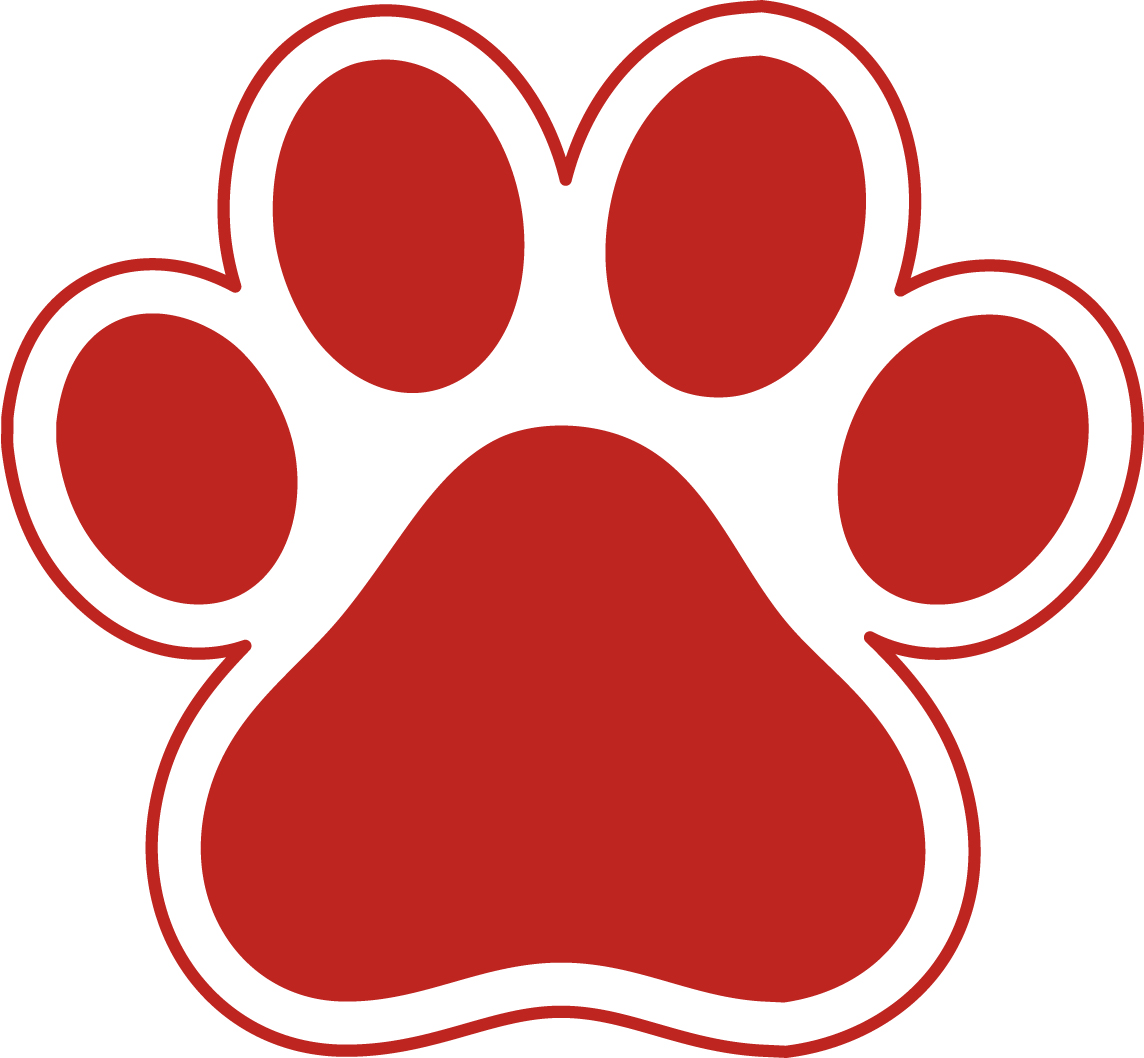 1144x1058 Paw Print Clip Art Red Paw Clipart Kid