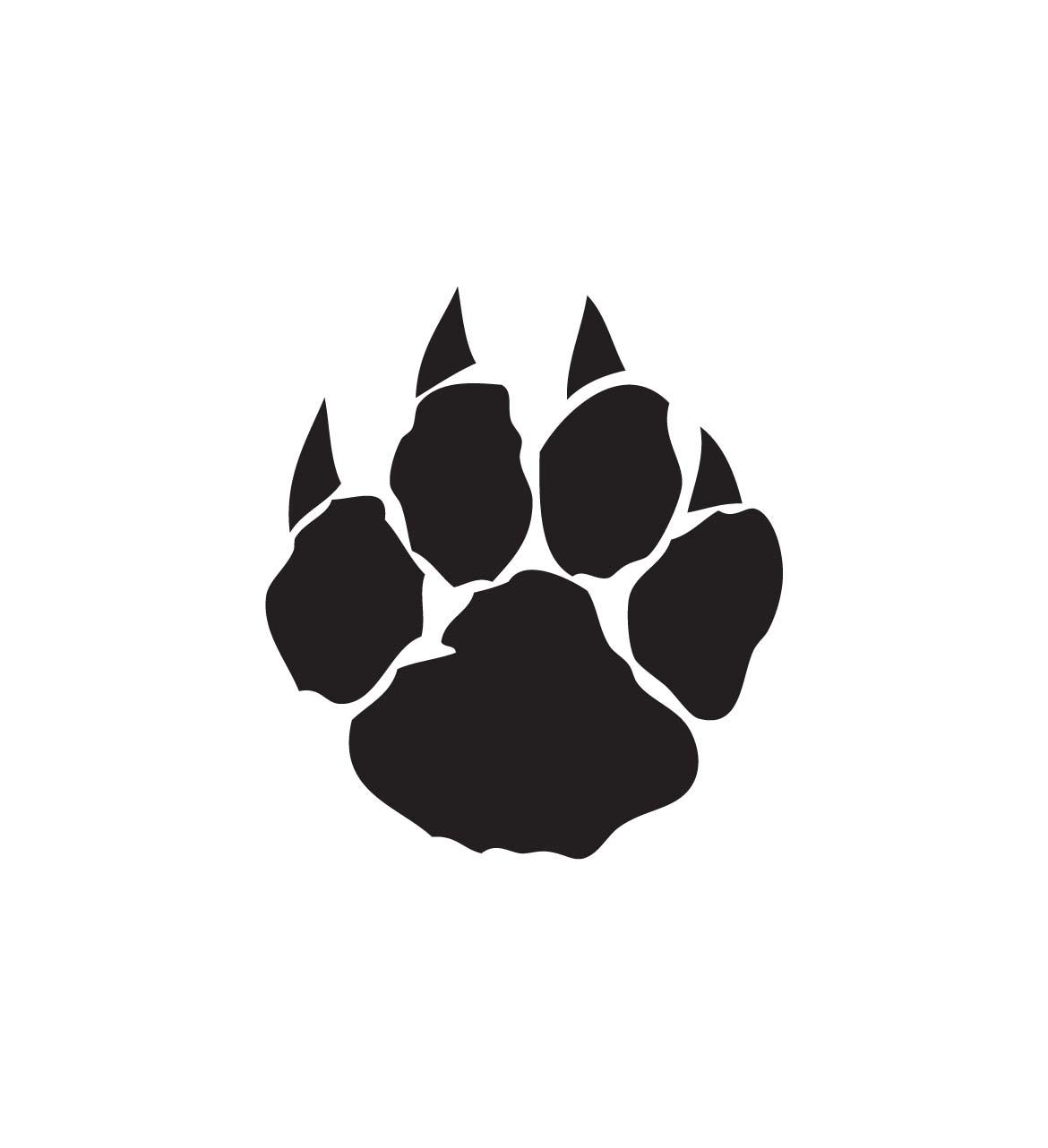 1170x1282 Dog Paw Print Clip Art Free Download 4