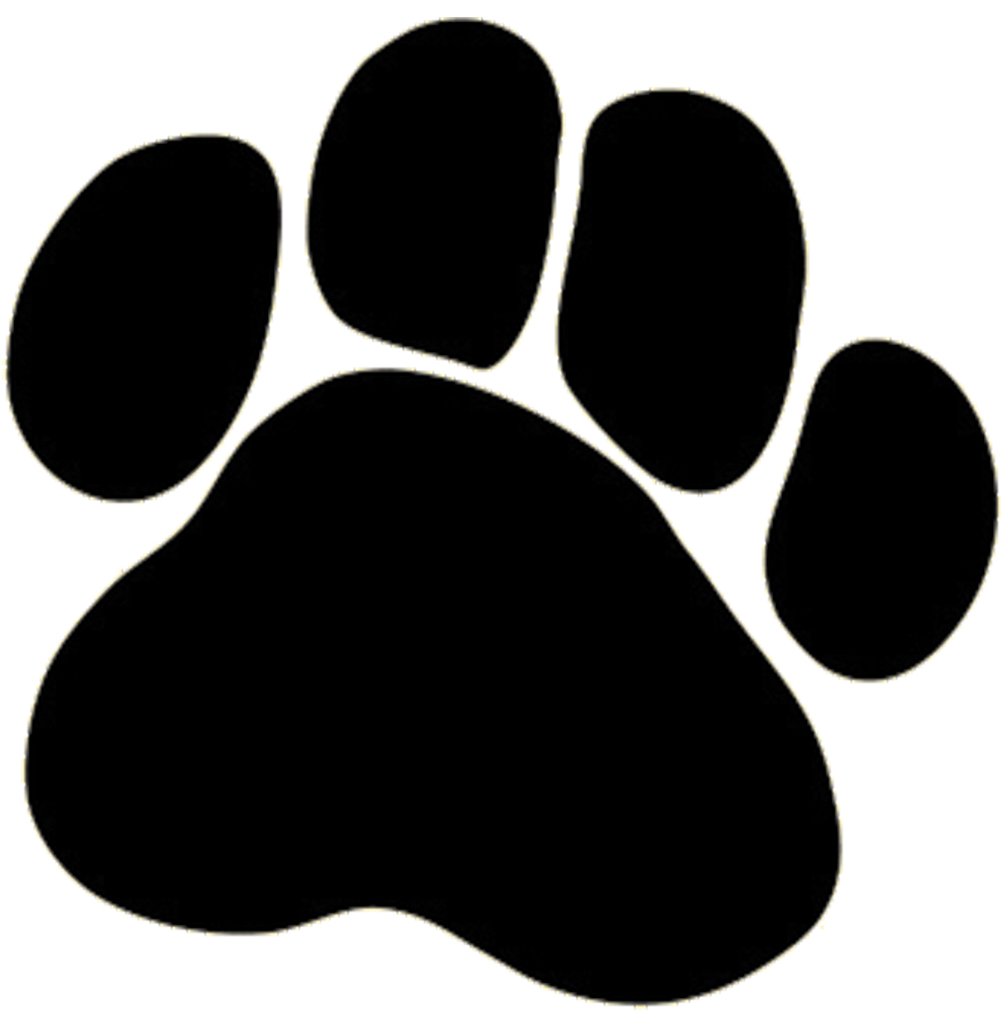 1125x1149 Dog Paw Prints Dog Paw Border Clipart Free Images 2 Wikiclipart