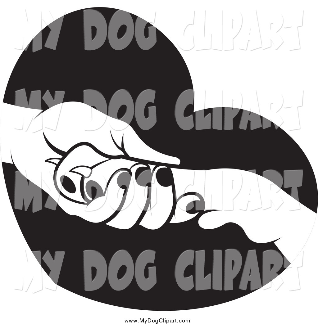 1024x1044 Paw In Hand Clipart