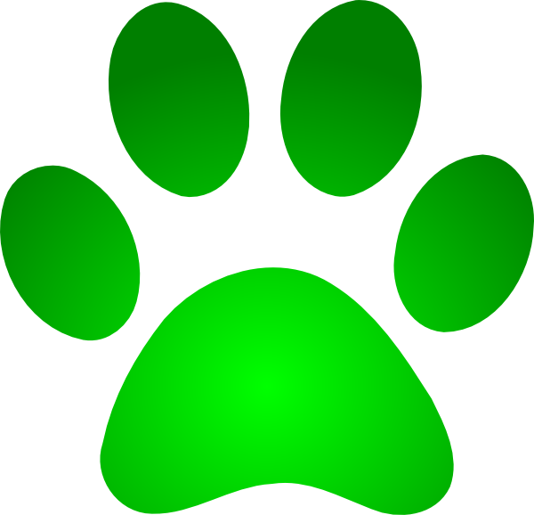 600x578 Paw Print Wildcats On Dog Paws Paw Tattoos And Clip Art Image 4