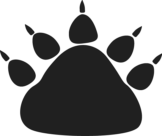 545x459 Dog Paw Print Clip Art Free Download 4