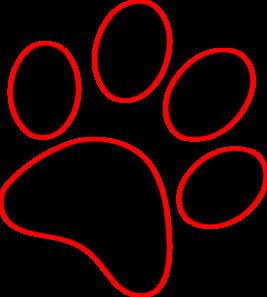 267x297 Dog Paw Print Clip Art Free Download