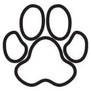 188x188 Paw Print Clip Art Free Coloring Page Clip Art Images Coloring