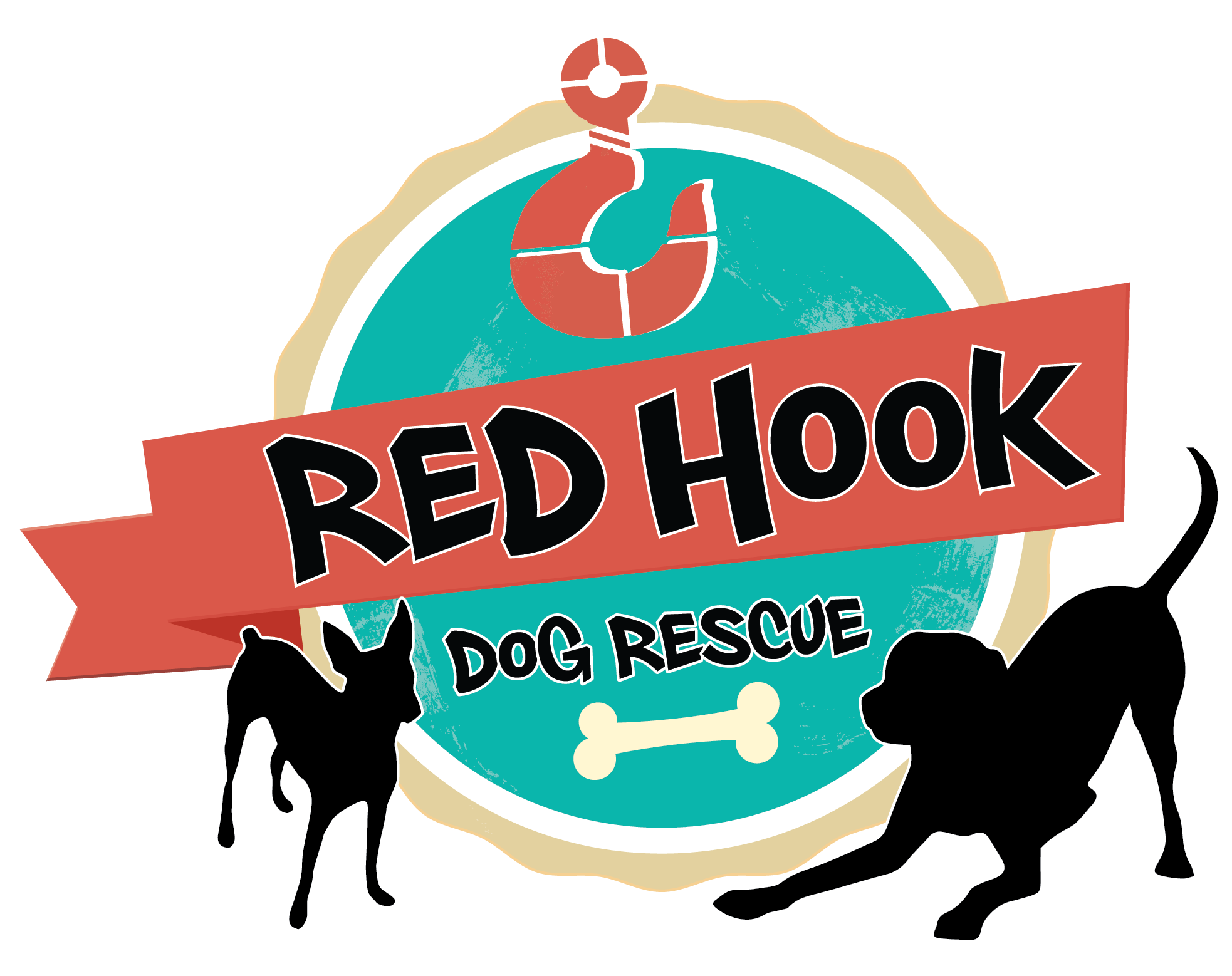 1966x1558 Red Hook Dog Rescue Logo Design Jjj.