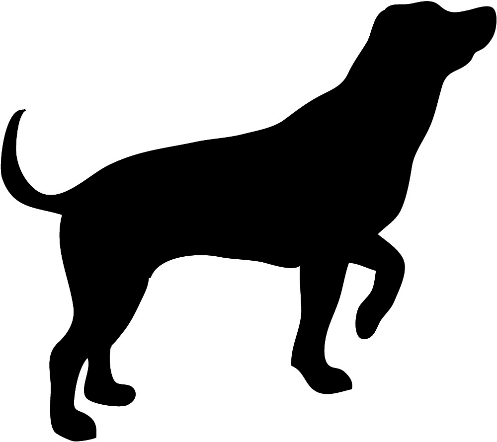 1000x890 Hunting Dog Silhouette Clip Art