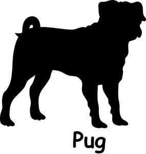 285x300 Bloodhound Clipart Dog Silhouette