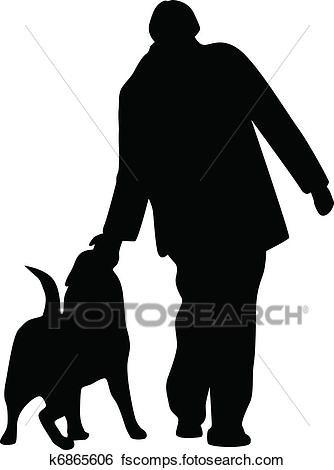 Dog Silhouette Clipart