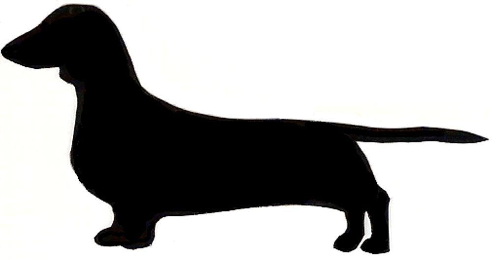 1000x527 Dachshund Silhouette Clip Art