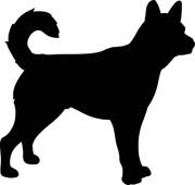 180x170 Dog Silhouette Clip Art Free Cliparts