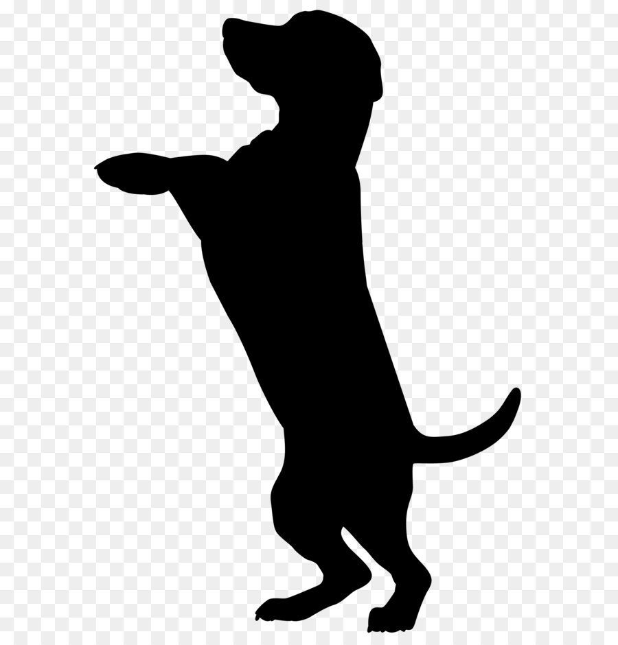 900x940 Dog Silhouette Png Clip Art Image
