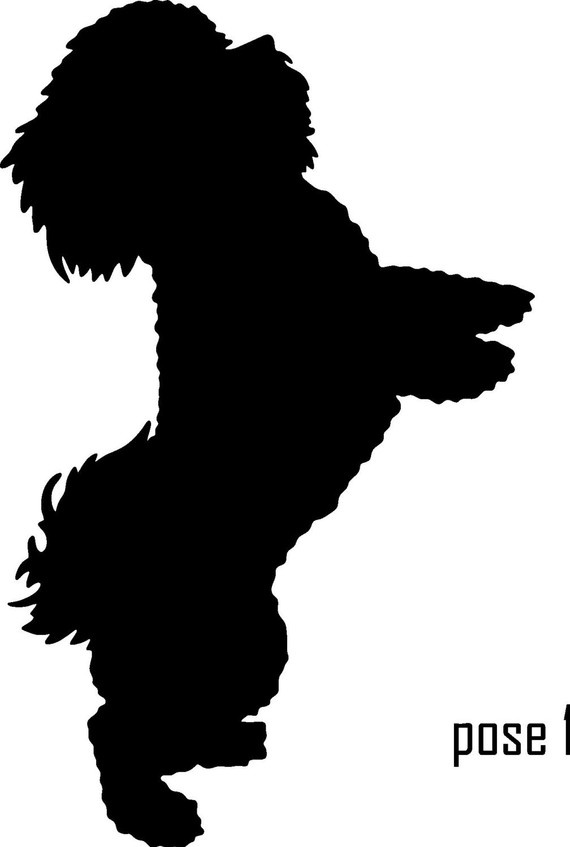 570x847 Silhouette Of Dogs