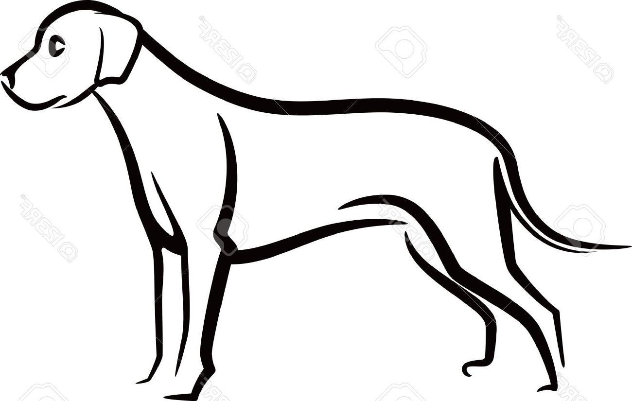 1300x825 Unique Dog Outline Clip Art File Free Free Vector Art, Images