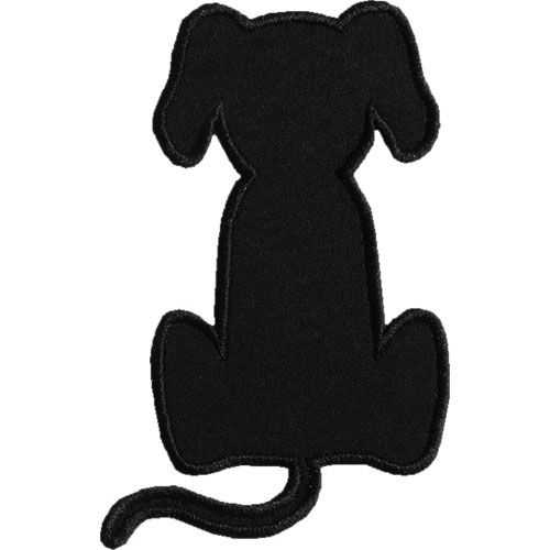 500x500 Best Dog Silhouette Ideas Dog Outline, Dog