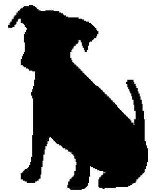 321x400 Clipart Of Dog In A Car Silhouette Collection On Puppy Silhouette