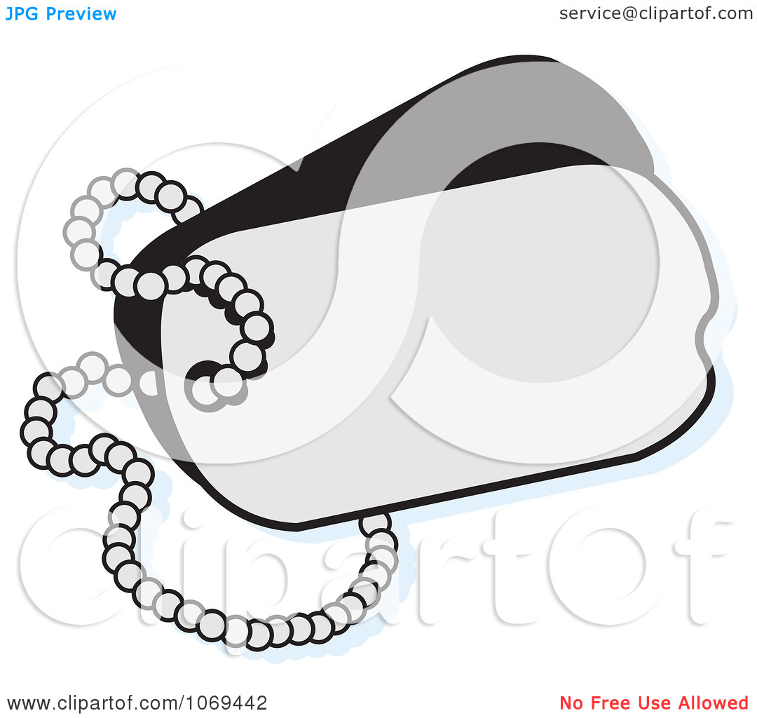 1080x1024 12 Military Dog Tag Vector Art Images
