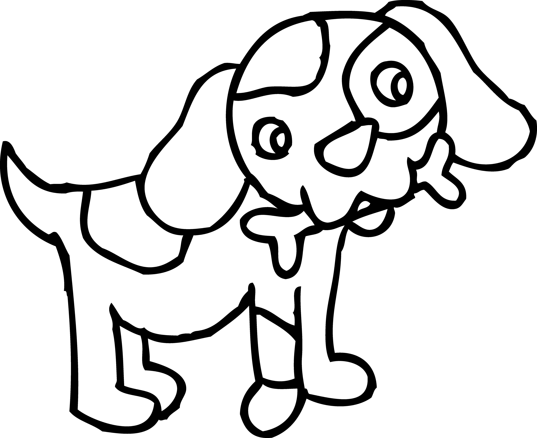5897x4811 Dog Outline Clip Art