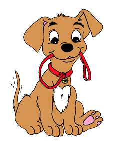 241x300 Dog Walking Clipart