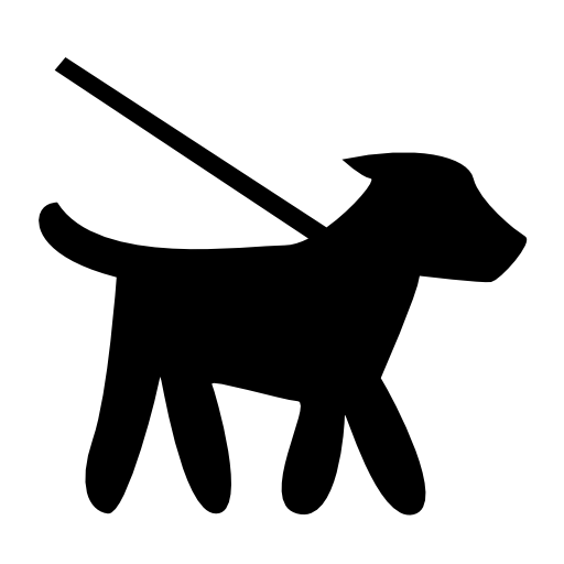 512x512 Puppy Clipart Dog Walking