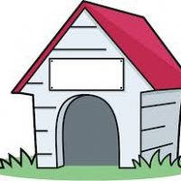 200x200 Doghouse Clipart
